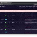 Image for the Tweet beginning: We have launched our Testnet-2
