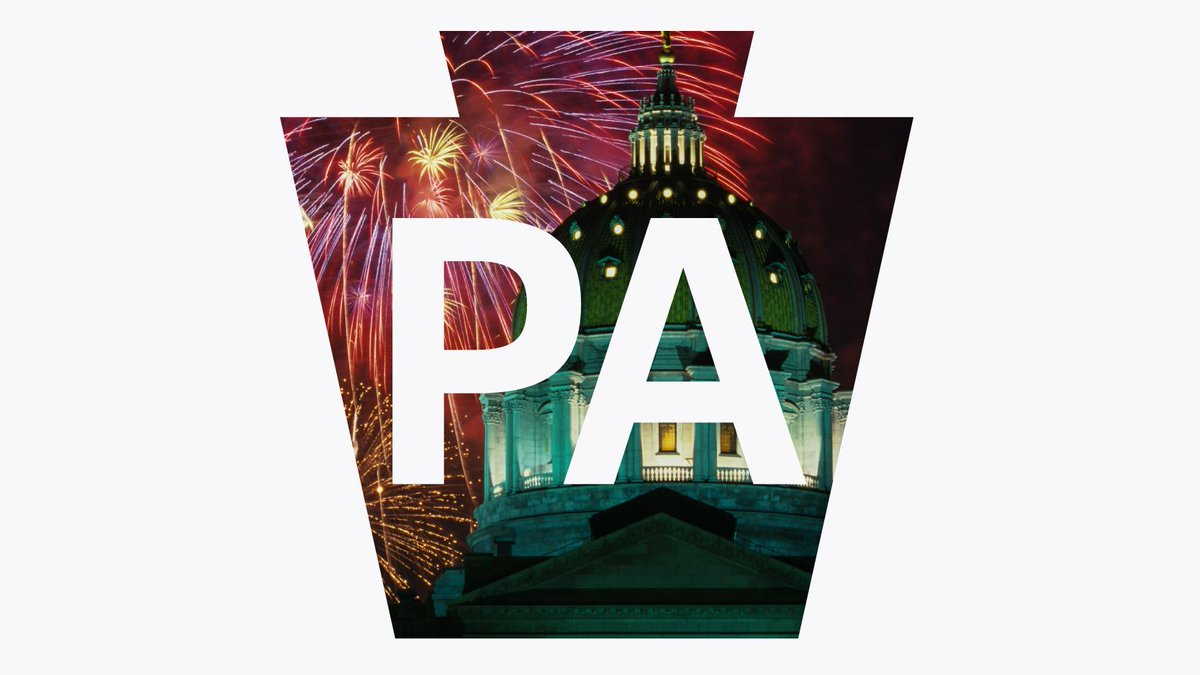 243 years ago today, our nation was founded right here in Pennsylvania. Happy #FourthofJuly, PA! 🇺🇸