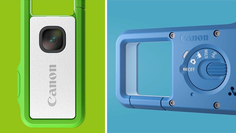 Canon stuck a smartphone lens into a flash drive for this tiny clip-on camera