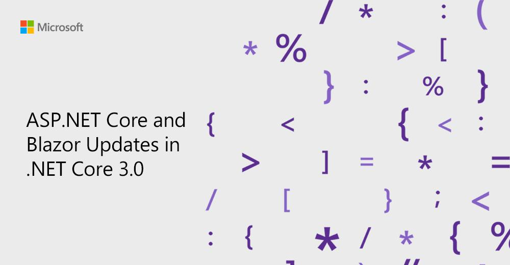 #dotNET Core 3.0 Preview 6 is now available and it includes tons of updates to #ASPNET Core and #Blazor. Explore: http://msft.social/leVLeb