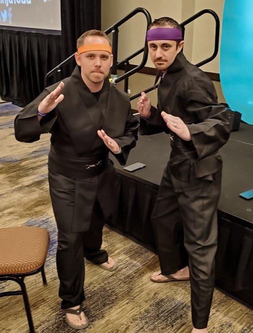 Were ready for Teacher Ninja Warrior at #GetYourTeachOn! 📸 @CMoore1610