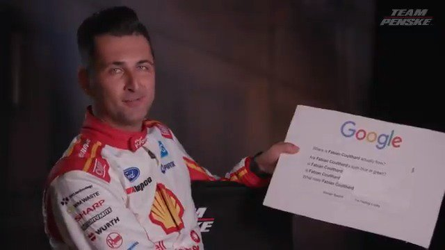 We had @FabianCoulthard answer Google searches on himself and he even got stumped on one question. 🤔 @smclaughlin93 told us you dont like the number two and the internet still wants to know why. 🤣 #VASC   @DJRTeamPenske
