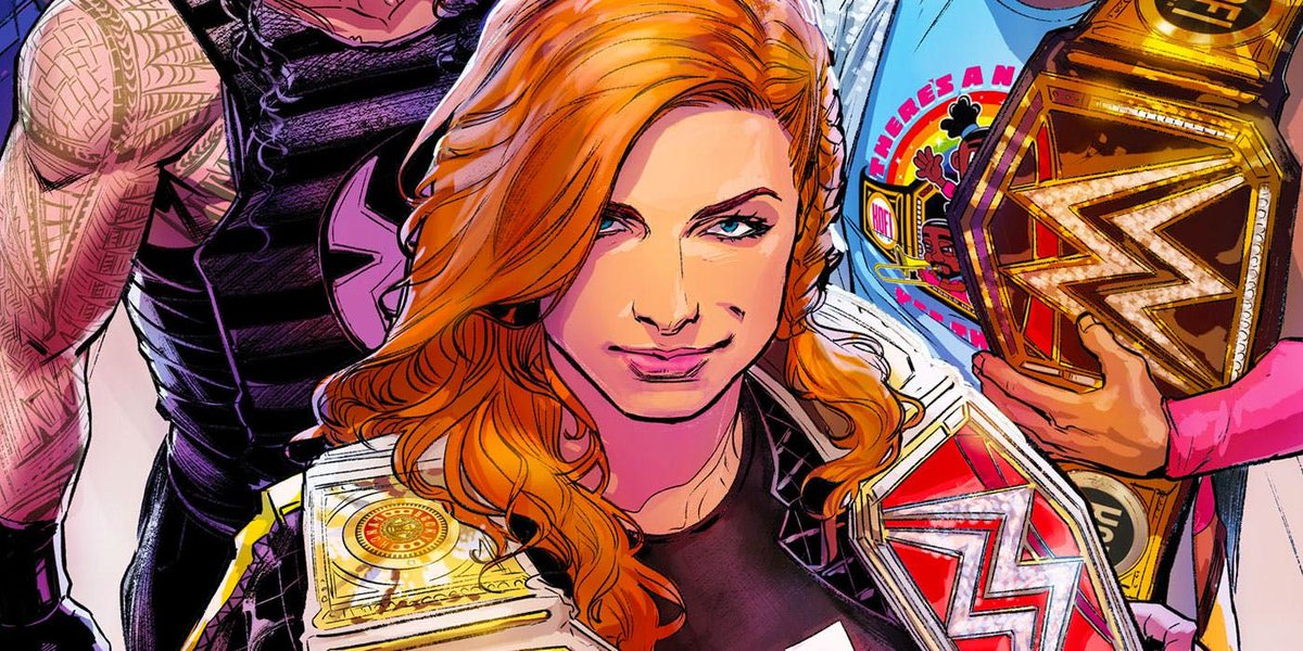 Becky Lynch Featured In New WWE SmackDown Comic To Promote Fox Friday Night Premiere (Photo)
