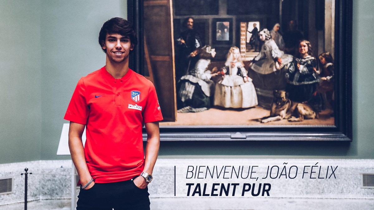 João Felix signe 7 ans à l'Atlético Madrid — Officiel