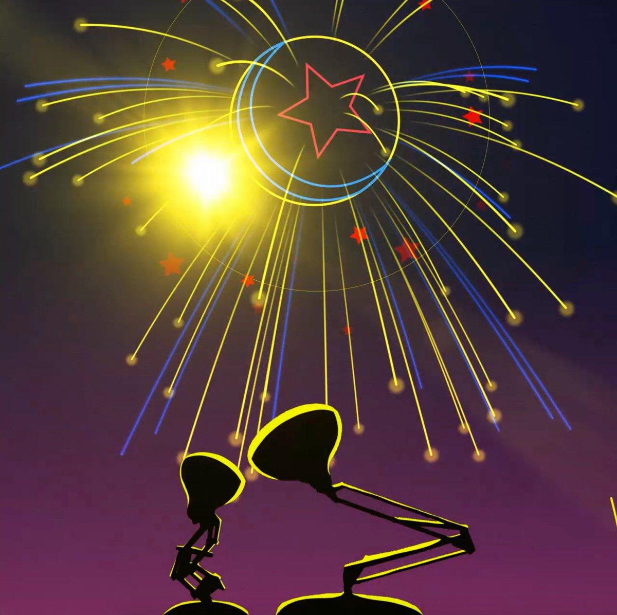 Happy #FourthOfJuly from Pixar!
