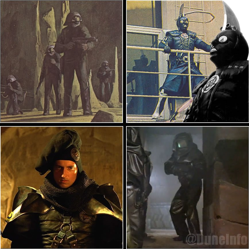 Duneinfo On Twitter With The Imdb Listing For Denis Villeneuve S Dune Filling Up With Sardaukar Here Is A Look At How They Have Been Represented In The Past How Do You Think