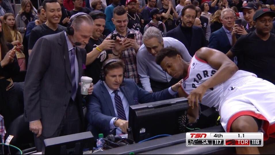 Toronto right now. #KawhiWatch