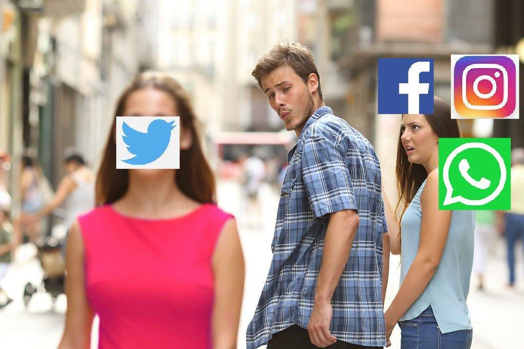 RT @UgoBaroni: Non c'è niente da fare #Twitter 👍❤️ è il Miglior Social #Instagramdowm #facebookdown #whatsappdown https://t.co/GjqXSdCcSC