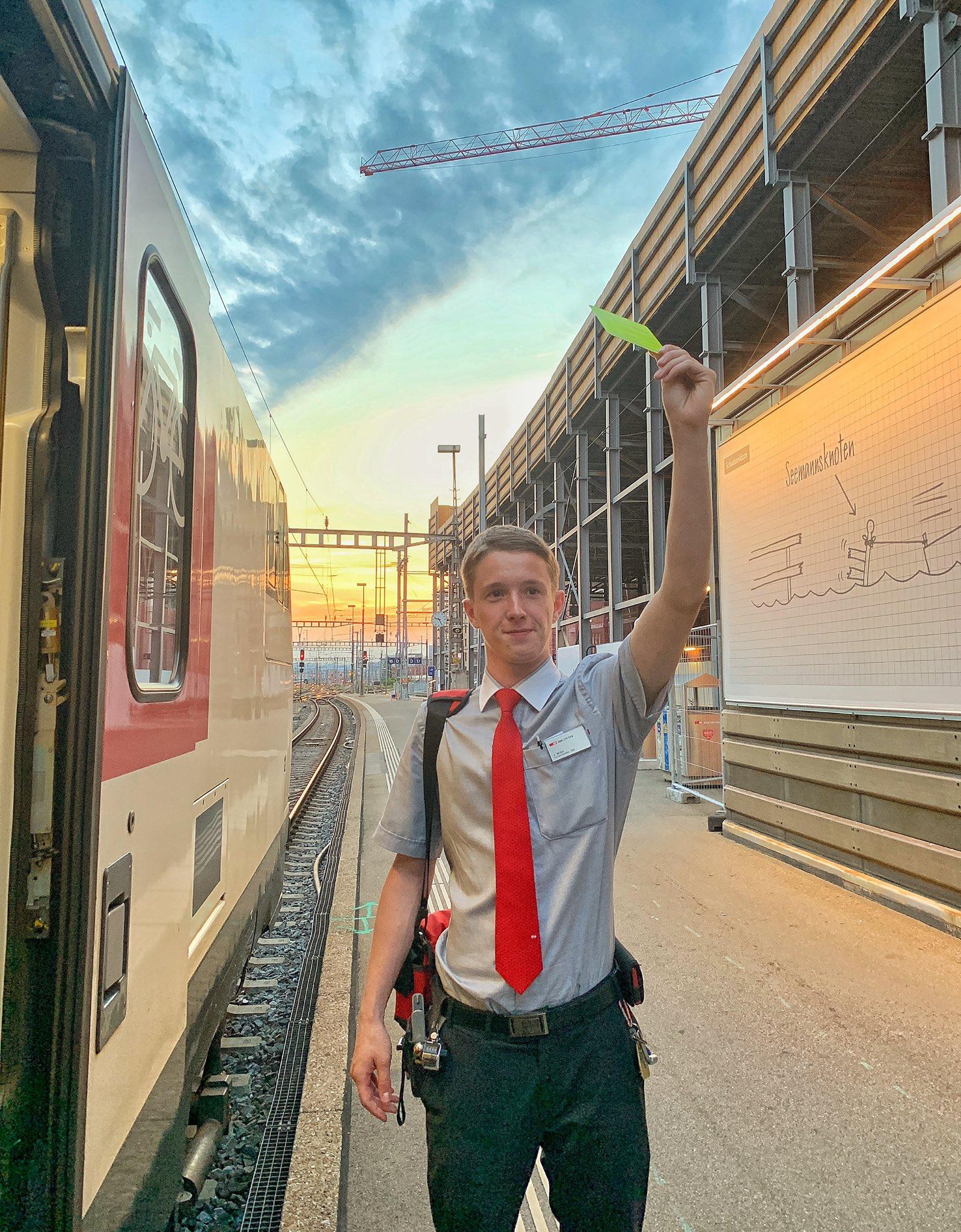 angehende Lokführerinnen / Lokführer Personenverkehr Bern