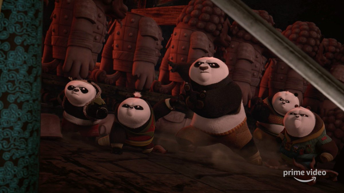 A Kung Fu master never backs down! Watch all-new episodes of #KungFuPanda: The Paws of Destiny now only on @PrimeVideo.