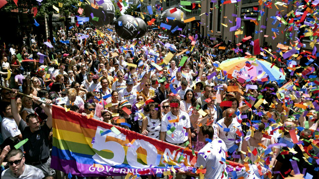 5 million people attended WorldPride events in New York City, mayor says https://7ny.tv/32aVX9c