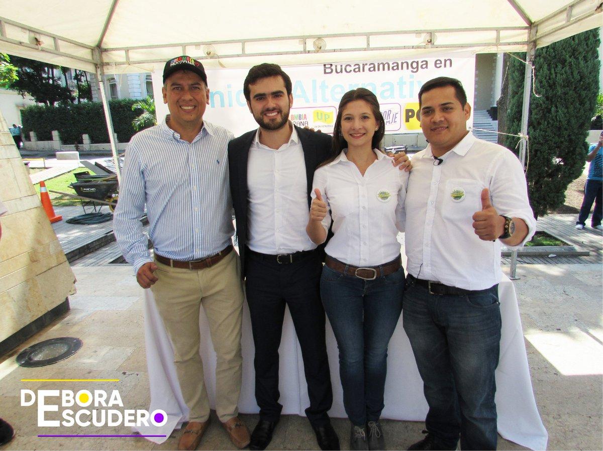 Hoy lanzamos #UnidadAlternativa por Bucaramanga, el único proyecto alternativo que fue capaz de unirse por la ciudad. Entre estos 3 candidatos saldrá el candidato único a la @AlcaldiaBGA   No más los mismos con las mismas, llegó la hora del desarrollo económico para Bucaramanga.