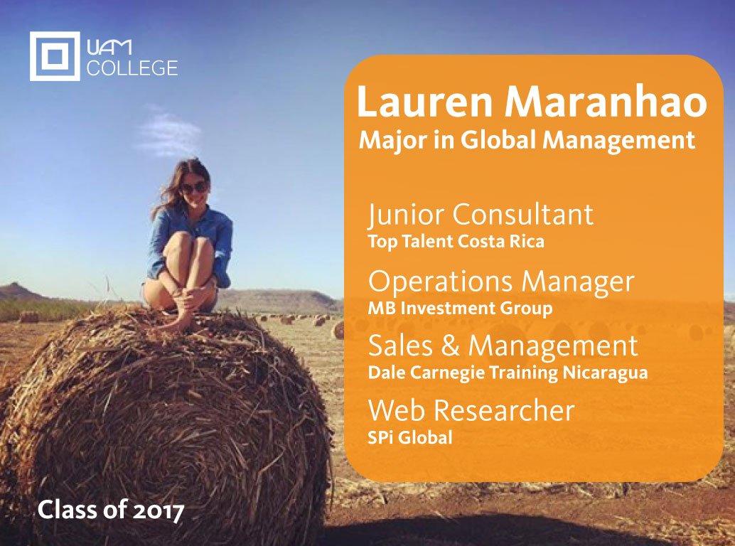 Lauren Maranhao, Class of 2017  1 of 300+ Transformational Alumni  https://t.co/s8kUj5dAVm https://t.co/KbwW93SH08