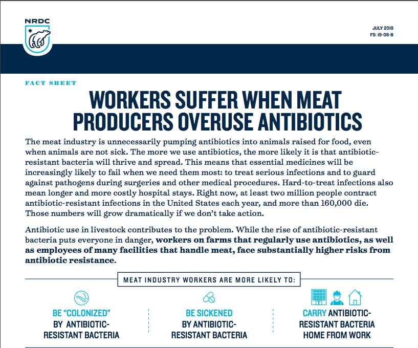 Save Antibiotics | NRDC