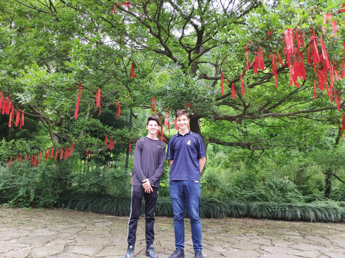 We aspire for our students to be international; to be ready for the world. Harry & Matt have just returned from an 8-week study visit to our sister school in Hang Zhou where they improved their Chinese language, independence & resilience.