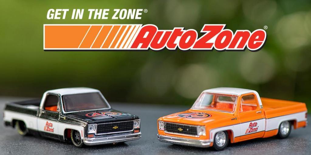 AutoZone 40th Anniversary Toy Car