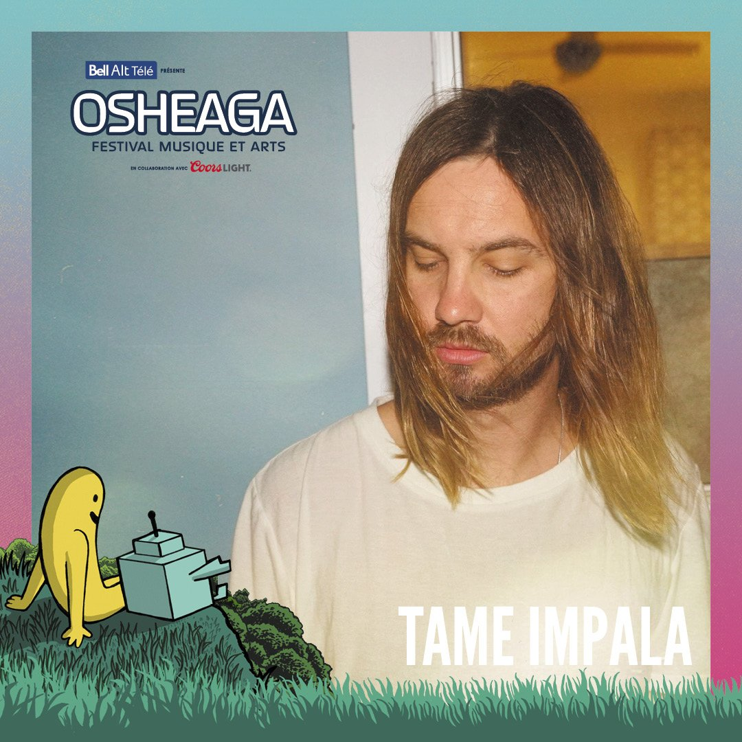 Tame Impala play @osheaga festival in Montréal on August 04. Tickets: on.osheaga.com/trk/rPpl