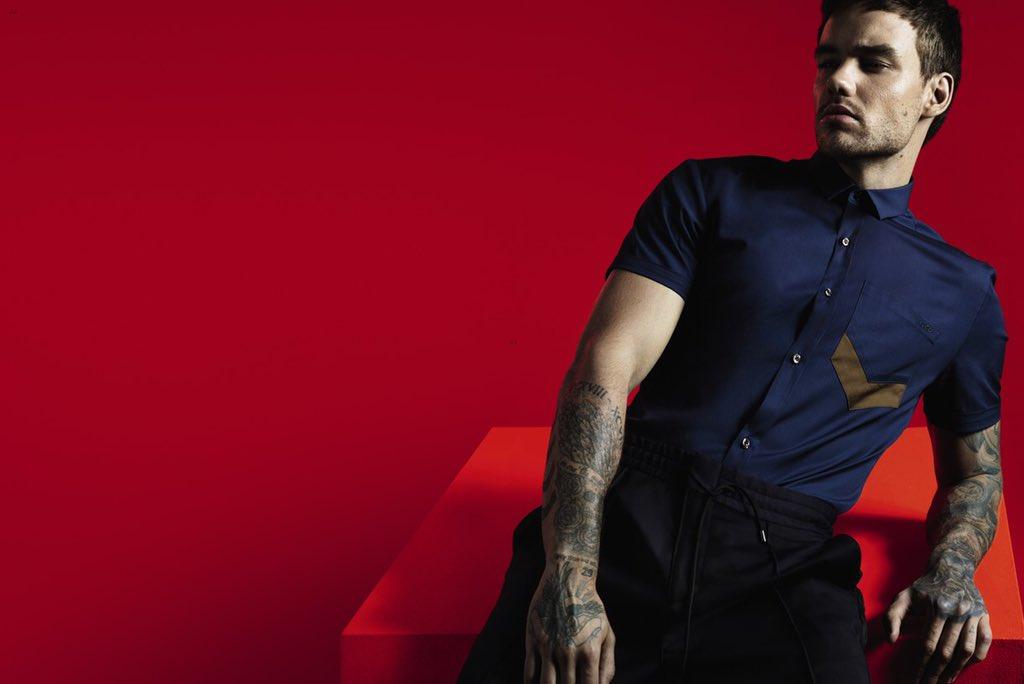 Liam Payne aparece só de cueca em campanha para a Hugo Boss