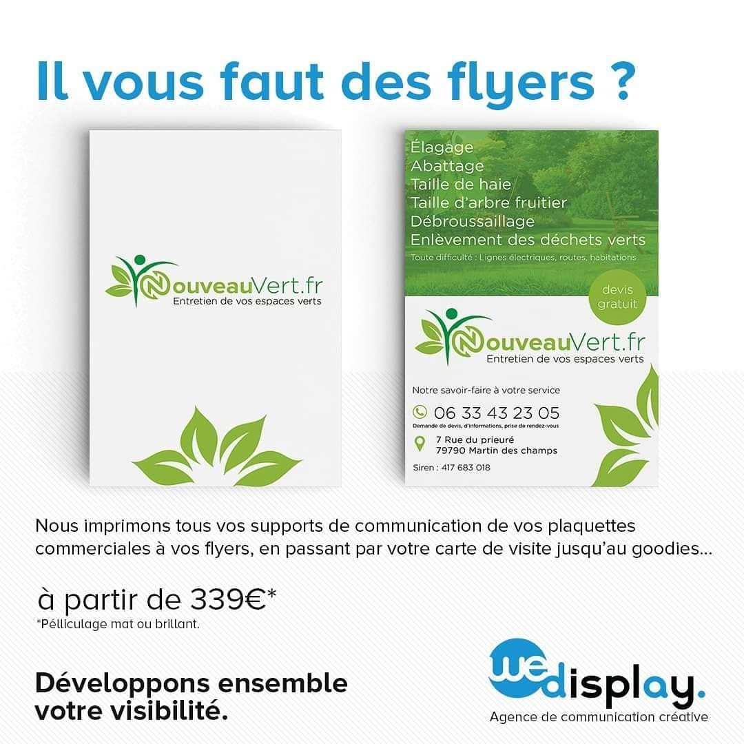"""Agence De Communication Roubaix we display on twitter: """"il vous faut des flyers ? nous"""