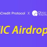 Image for the Tweet beginning: We will launch an airdrop