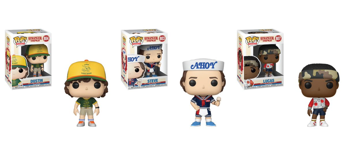 RT & follow @OriginalFunko for a chance to WIN a #StrangerThings Pop! Prize Pack.