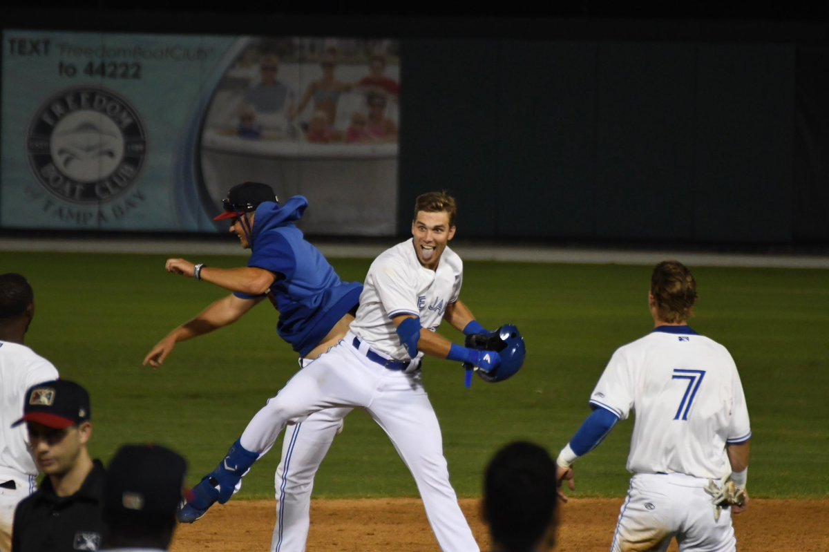 a71c9f85193885 Everyone got fireworks tonight with @cullenlarge getting the base hit to  walk us off in the 10th inning! Blue Jays notch their 52nd win ...