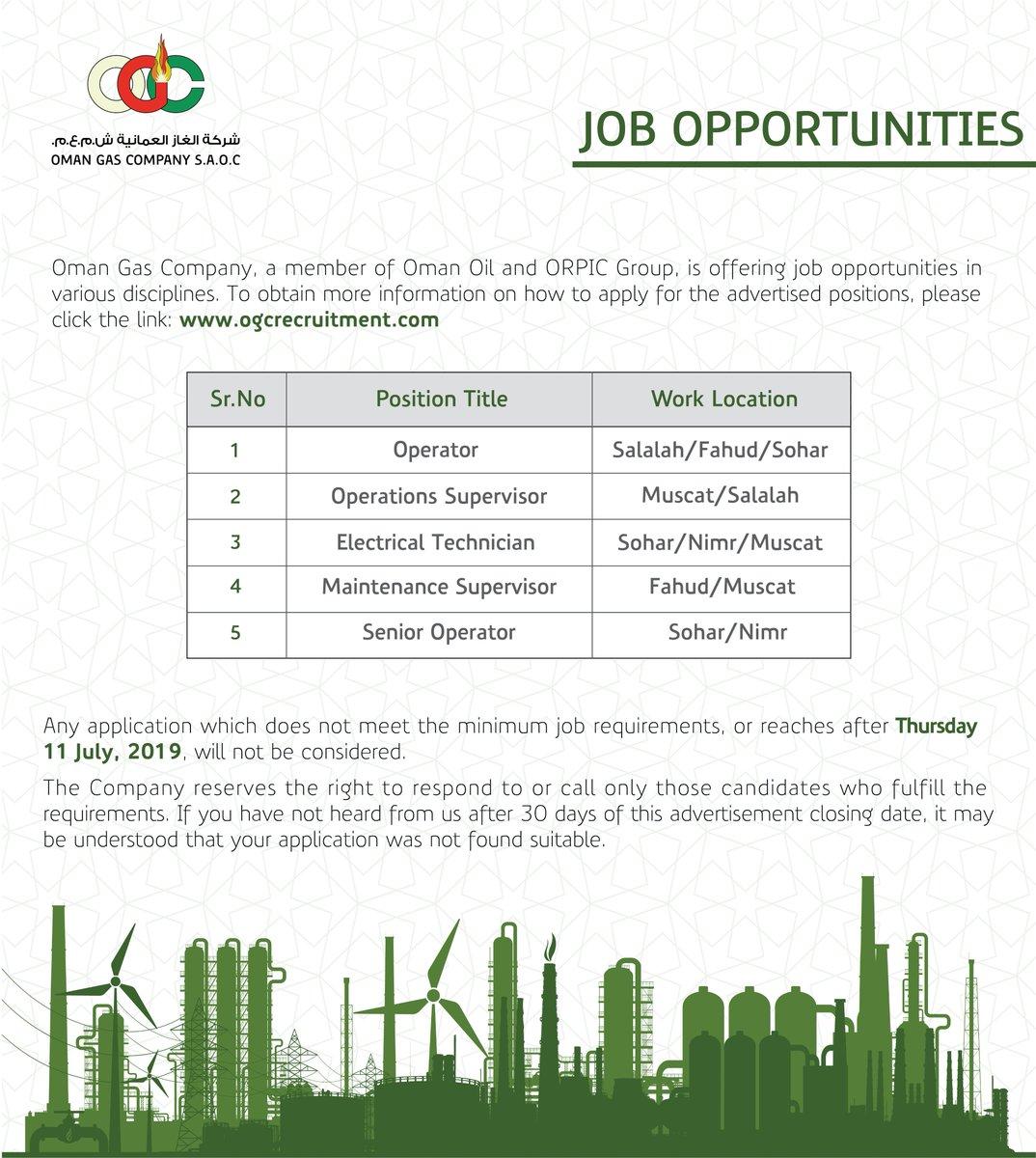 شركة الغاز العمانية (@Oman_Gas) | Twitter