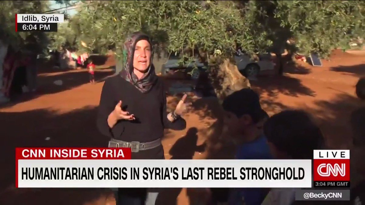 """""""Our worst fears are materializing in northwestern Syria"""" The warning from a dozen humanitarian organizations who say millions of people could be facing a death sentence if the world doesn't act now. @ArwaCNN takes us to a camp for displaced families and shows us their reality."""