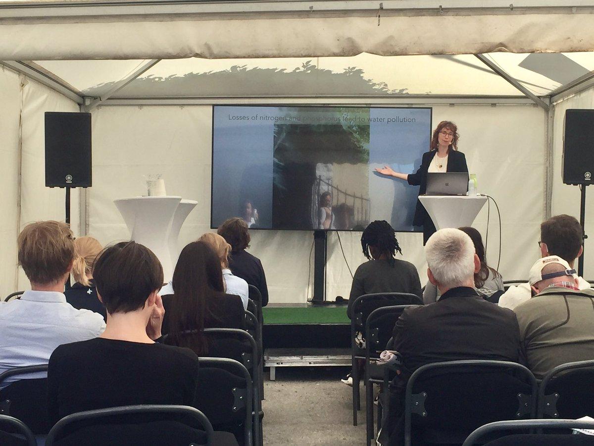 """We have the tools to really make good changes"" betonar Genevieve Metson, docent vid @liu_universitet.  #Almedalen2019 @gmetson  #Agenda2030"