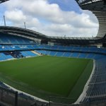 All set up here @Etihad_Stadium for the Football Trade Directory's largest event to date. Come and say hello @football_trade