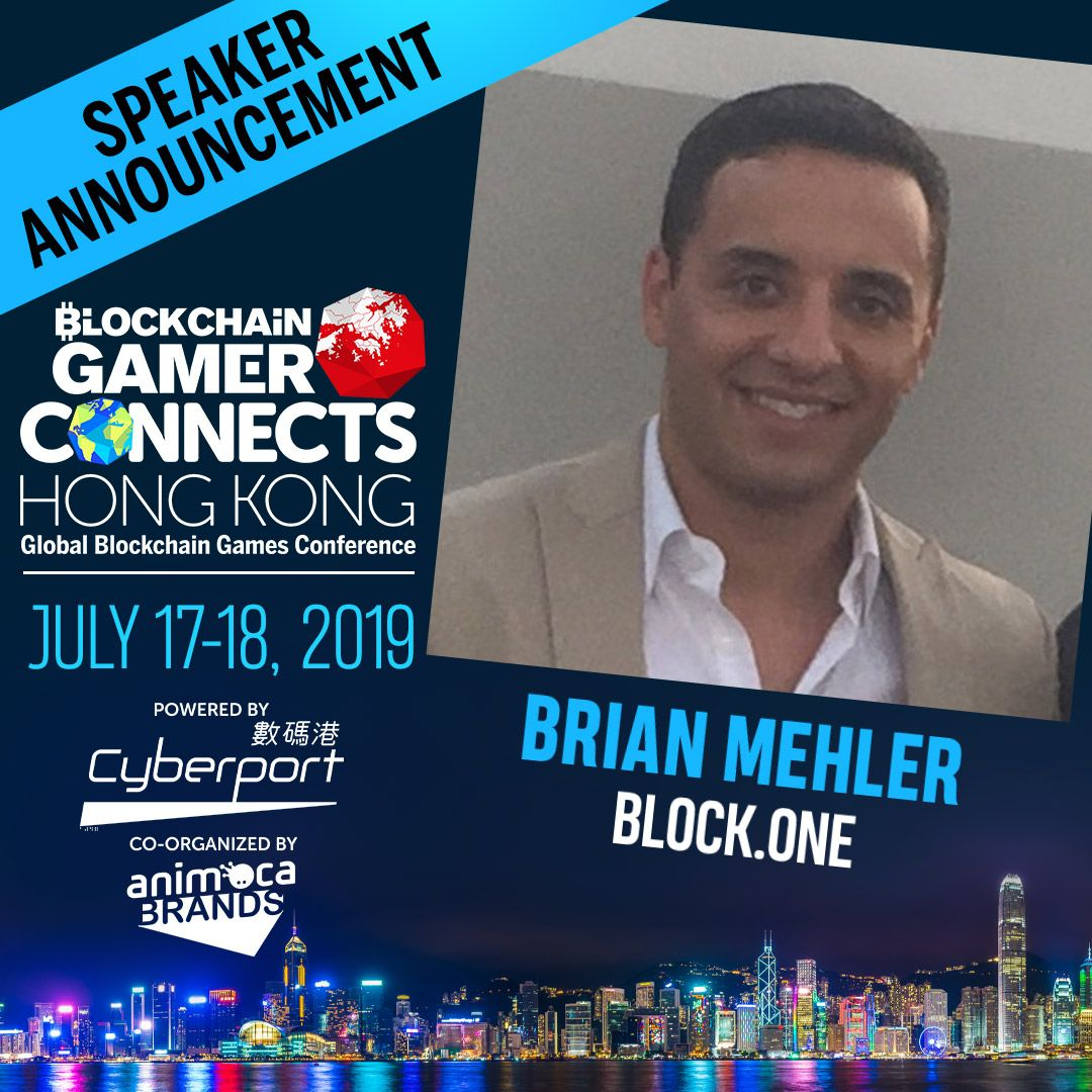 What do investors really think about blockchain games? EOS http://Block.one's Brian Mehler joins the debate at Blockchain Gamer Connects Hong Kong, July 17-18. THE B2B event for the games industry. Save up to $180 & mid-term prices now: https://buff.ly/2RjOcsz @block_one_