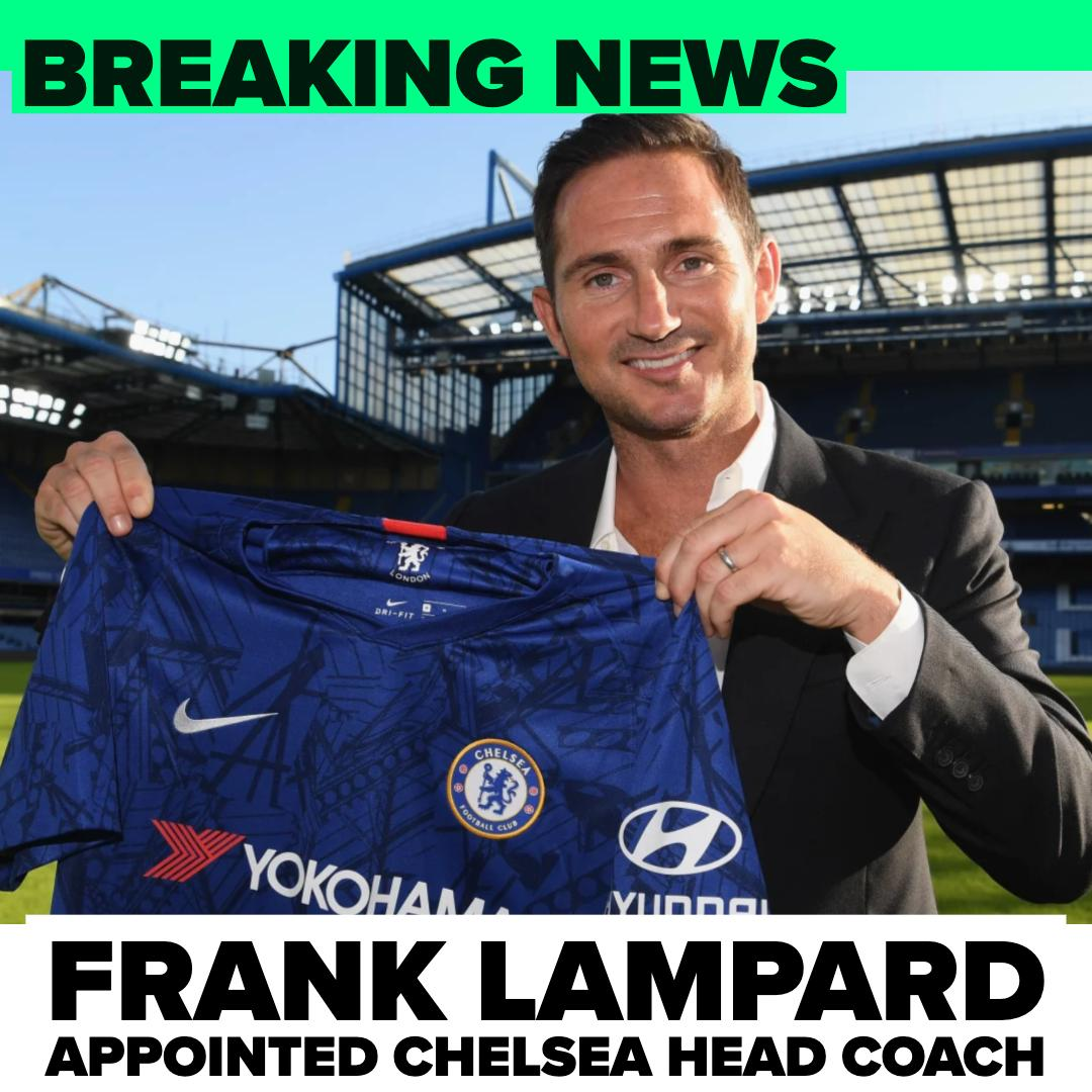 OFFICIAL: @ChelseaFC have confirmed the appointment of Frank Lampard as their new head coach. #WelcomeHomeFrank