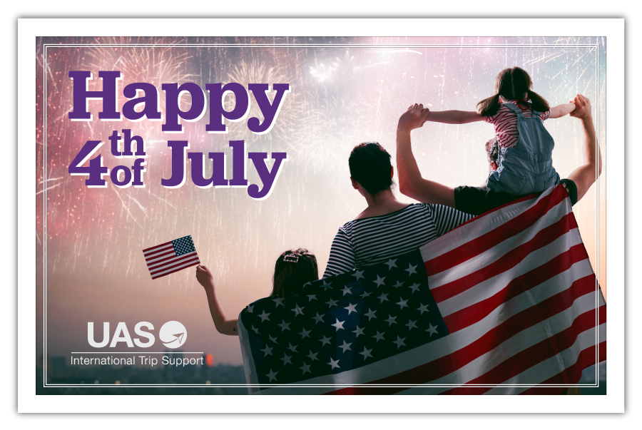Wishing all our friends a happy #4thofjuly #UAS_aero #tripsupport #bizav #LeadingTheIndustry