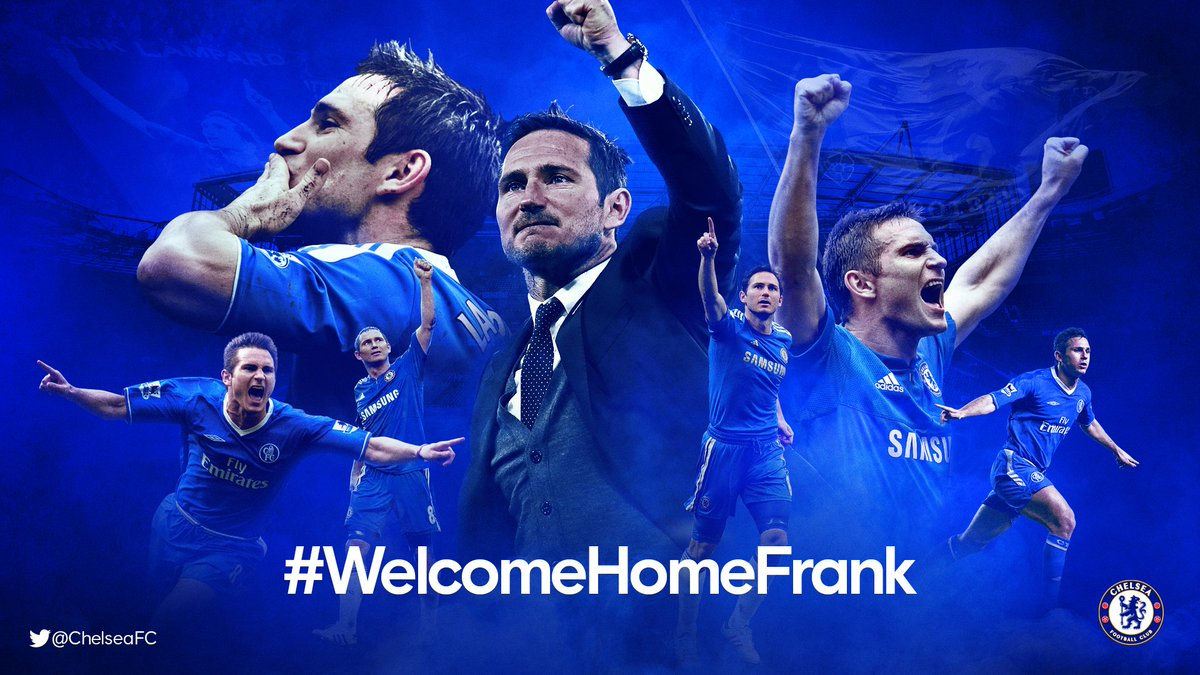 ✉️ Send in your messages to our new head coach using #WelcomeHomeFrank!