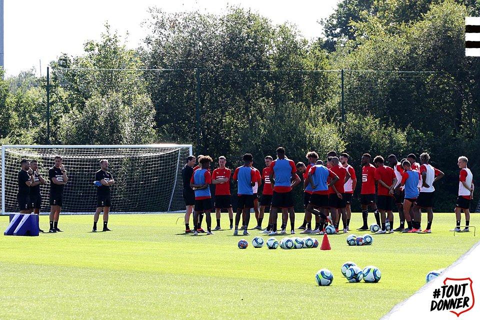 Stade Rennais reprise Ligue 1 photo Ouest MEDIAS