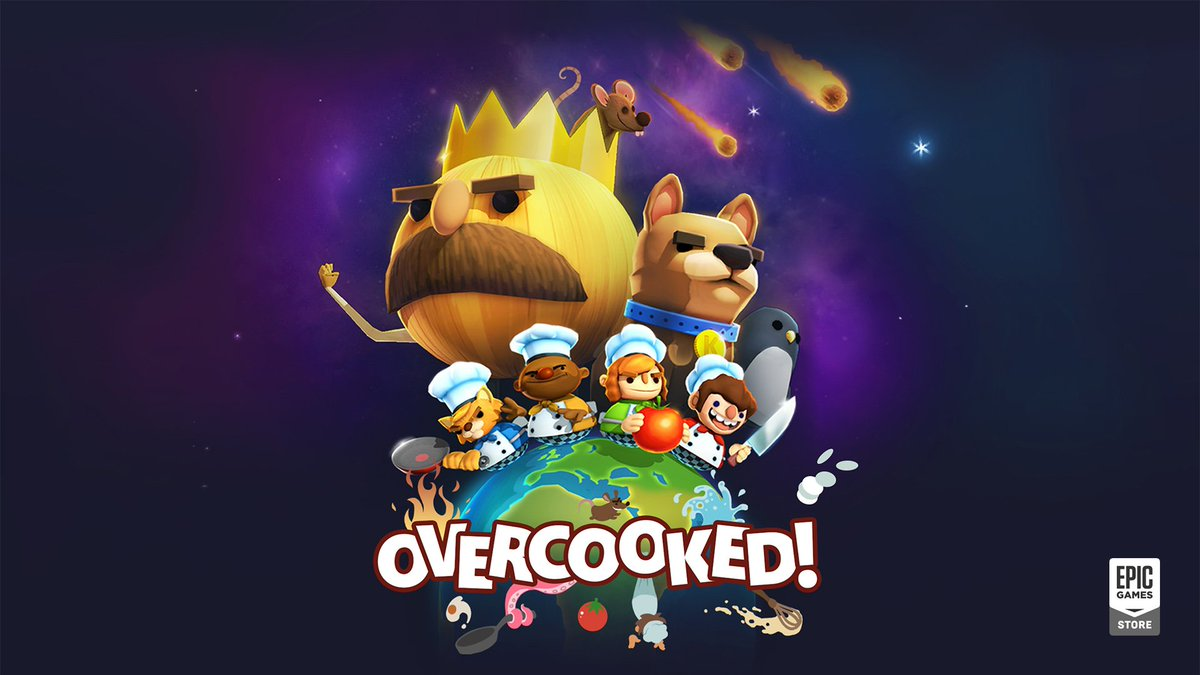 Overcooked is FREE on Epic Store
