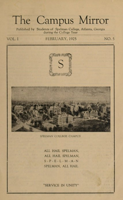 Did you know @SpelmanCollege's student newspapers are available on @DigLibGA's historical newspaper database? The periodicals date back to 1925 and give insight into the issues and diverse experiences of our students during various periods. http://bit.ly/2Lznk73