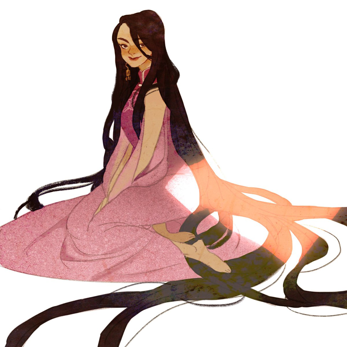 I want to see Asian rapunzel.🎈