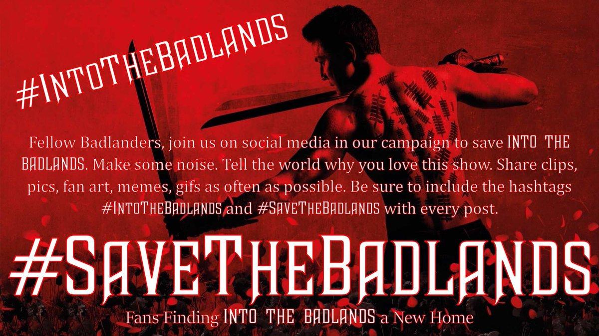 תג #saveintothebadlands בטוויטר