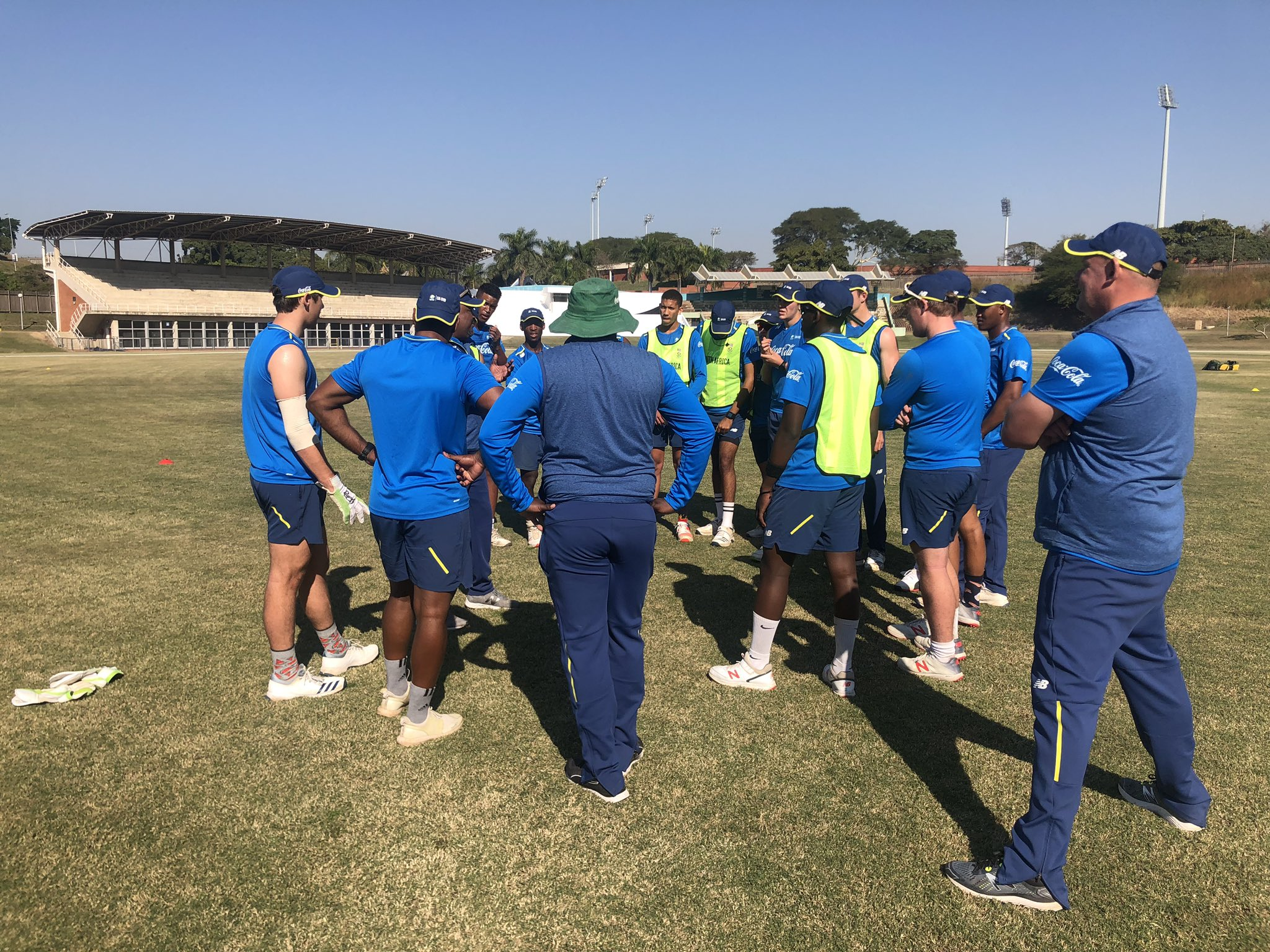 South Africa National Cricket Team Twitter Photo Back To