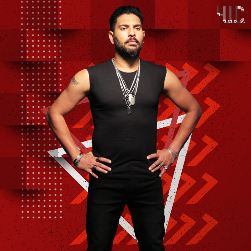Your daily swagger with #YWCOfficial @YUVSTRONG12