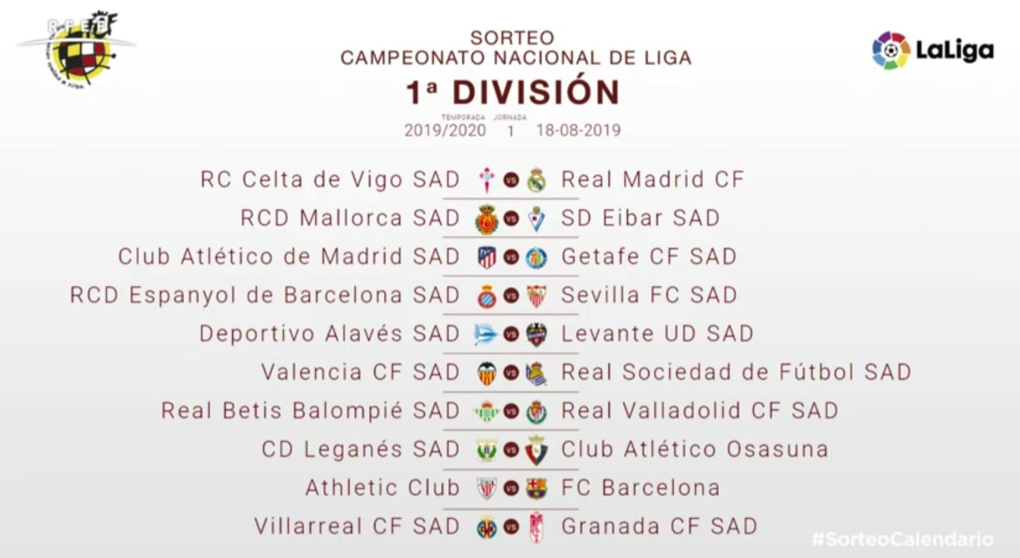 Sorteo Calendario Liga 2020.Sd Eibar Twitter Photo 2019 2020 Denboraldiko