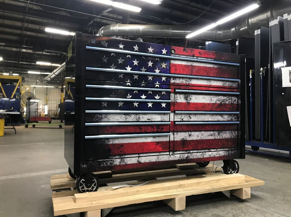 Happy 4th of July! Matco toolboxes are proudly made in the