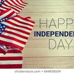 Image for the Tweet beginning: Happy #Independence Day!  The