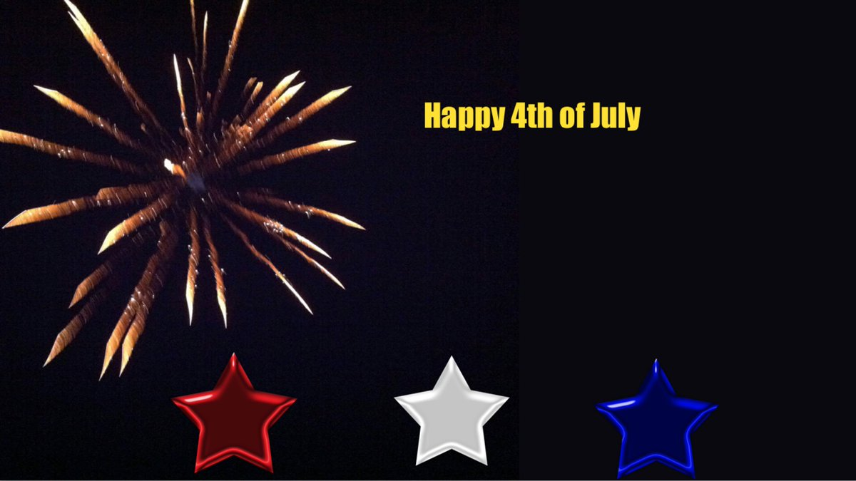 Happy 4th of July! Love building in @Buncee