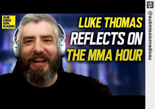 Look: Luke Thomas Reflects on The MMA Hour, #ChaelSonnen Disagreement http://y2u.be/wb2q5giK0v0 #mma
