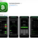 Image for the Tweet beginning: Coin Market Simulator - Virtual
