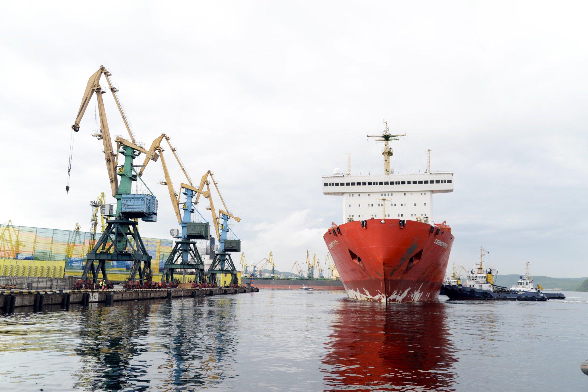 Фото торгового порта мурманска