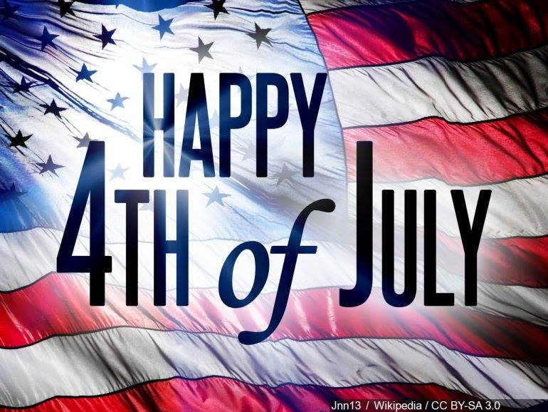 Happy 4th of July Everyone! Enjoy your day!