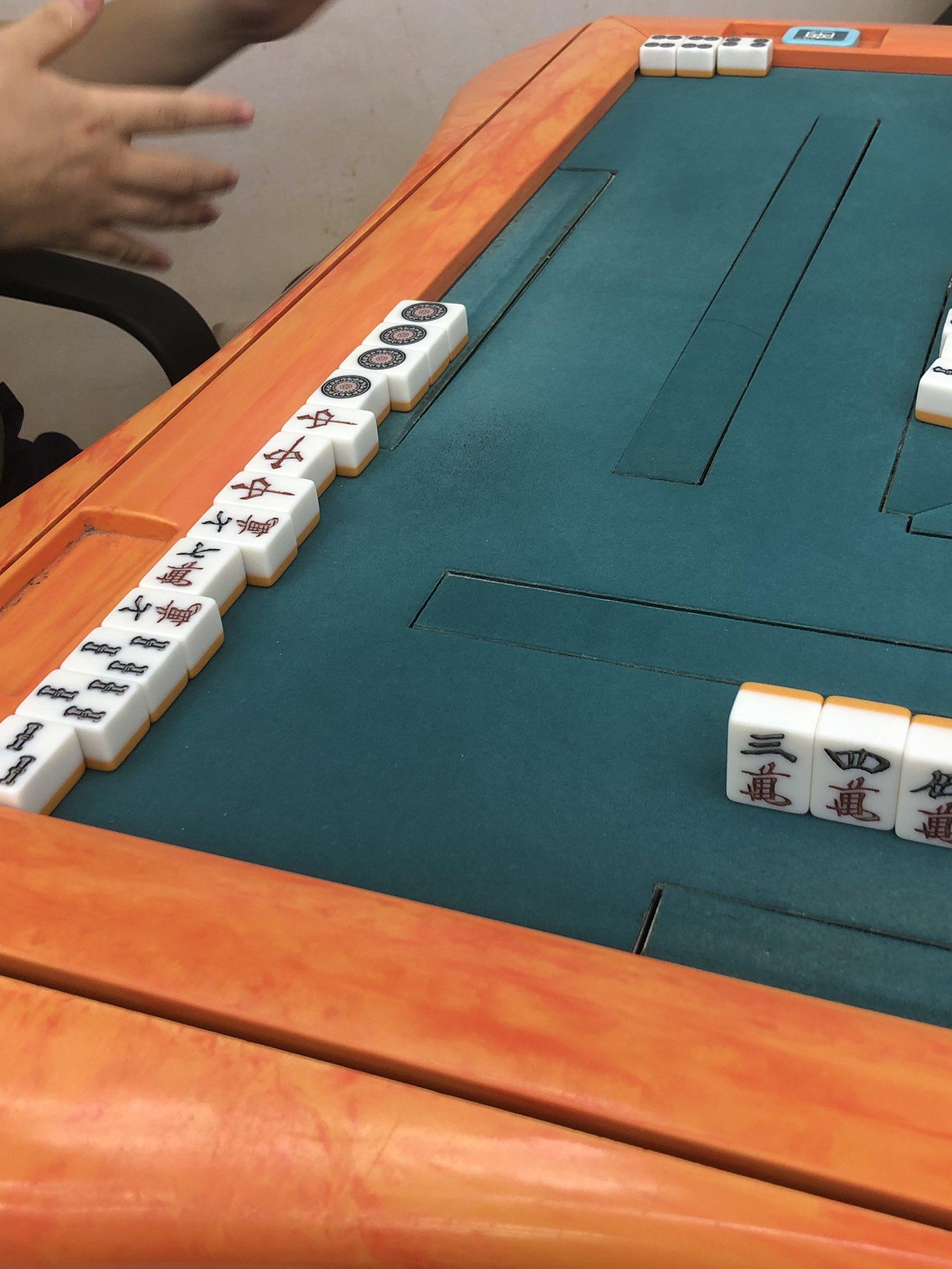 少牌後にカンして手牌0枚になった人が現れて今までの麻雀人生で一番笑った